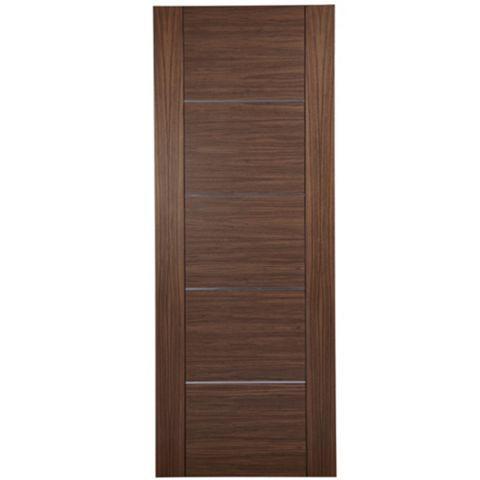 Flush Oak Veneer Internal Door, (H)1981mm (W)838mm