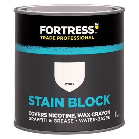 Fortress Trade Stain Block White, 1L