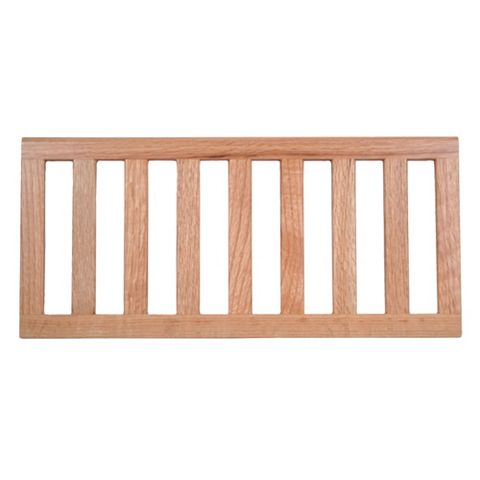 Oak Effect Slatted Shelf (L)471mm (D)216mm