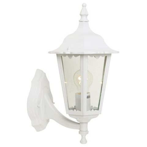 Waterville White Mains Powered External Wall Lantern