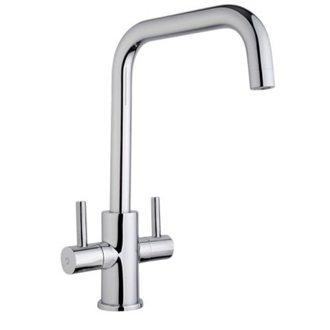 Cooke & Lewis Esna Chrome Effect Monobloc Tap