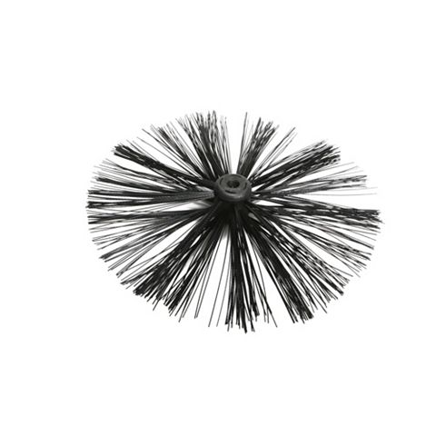 Black 400mm Chimney Brush