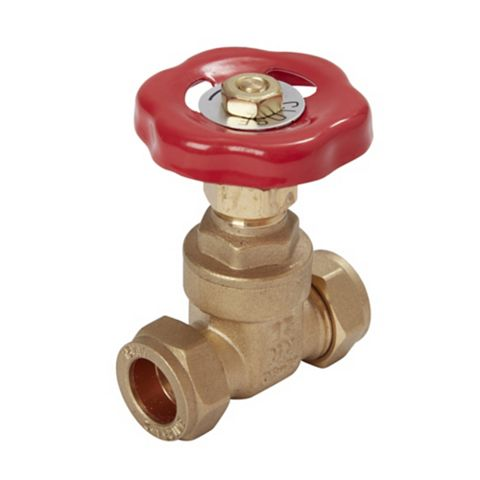 Compression Gate Valve (Dia)15mm