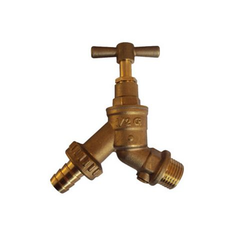 Plumbsure Brass Tap with Check Valve