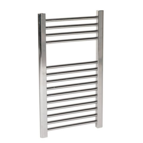 Flomasta Chrome Towel Radiator 400mm