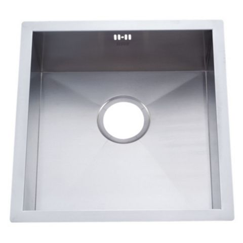 Cooke & Lewis Nitoite 1 Bowl Stainless Steel Sink