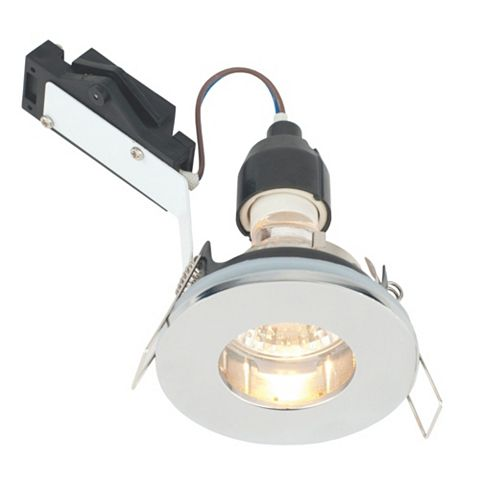 Lap Polished Chrome Effect Downlight 50 W