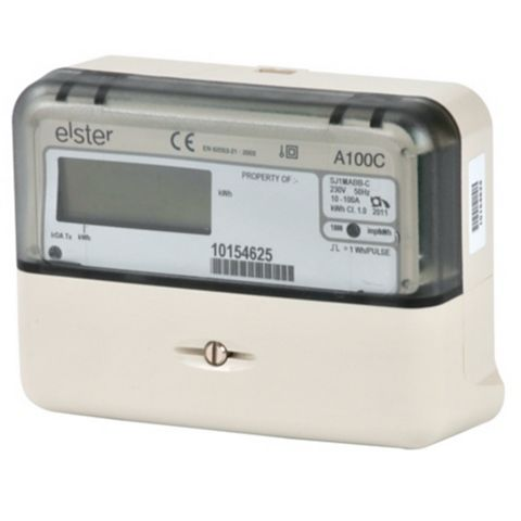 A100C Single Phase Meter, 130 x 97mm -