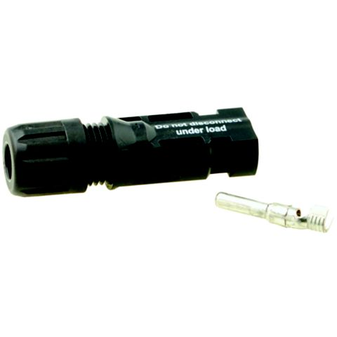 Mc 4mm Type 4 Negative Connector, Pack of 2