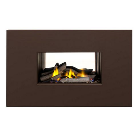 Ignite Mono Soft Brown Manual Control Inset Gas Fire
