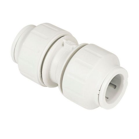 JG Speedfit Push Fit Straight Connector (Dia)15 mm, Pack of 10