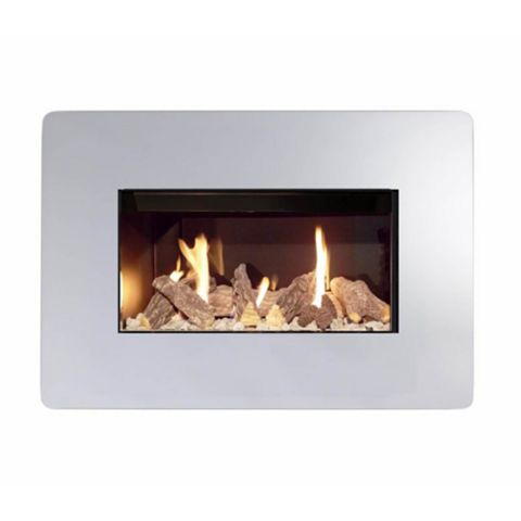 Ignite Royal Manual Control Inset Wall Mounted Gas Fire