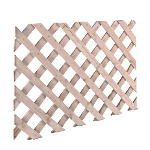 620 mm x 2.44 M Trellis Panel, Softwood