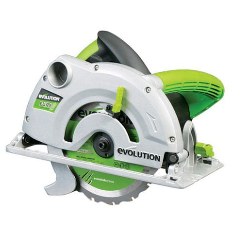 Evolution Diy 1200W 240V 185mm Circular Saw FURY1B