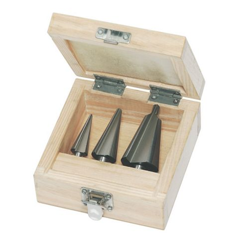 3-30 mm Cone Bit Set, 3 Piece