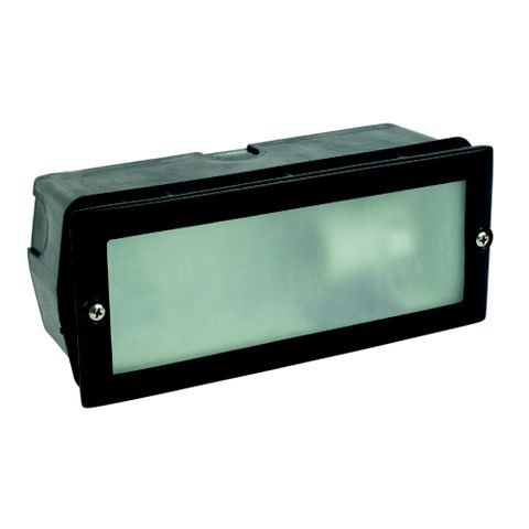 Black External Brick Light
