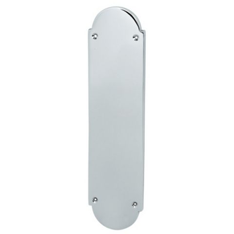 Polished Chrome Finger Plate, 75 x 300mm
