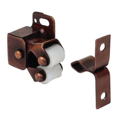 Bronze Roller Catch, Pack of 10