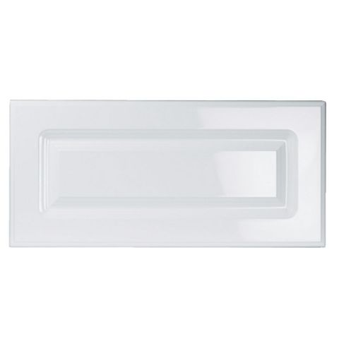 IT Kitchens Chilton Gloss White Style Bridging Door (W)600mm