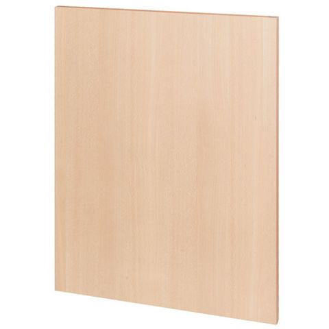 IT Kitchens Beech Style Replacement Base Base End Panel, 570 x 720mm