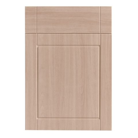 IT Kitchens Chilton Beech Effect Drawer Line Door & Drawer Front (W)500mm, Set of 1 Door & 1 Drawer Pack