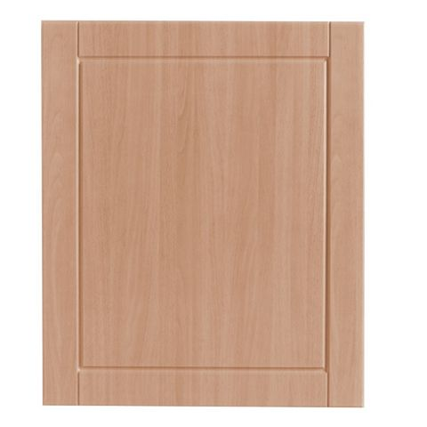 IT Kitchens Chilton Beech Effect Standard Door (W)600mm