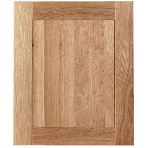 Cooke & Lewis Chesterton Solid Oak Standard Door (W)600mm