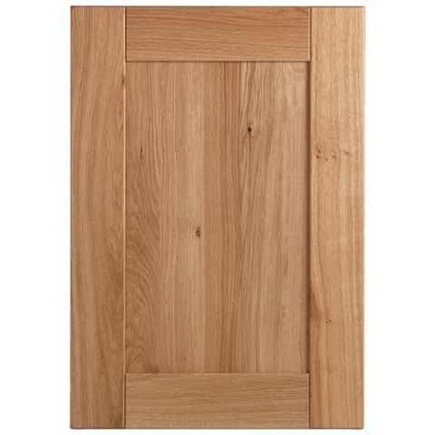 Cooke & Lewis Chesterton Solid Oak Standard Door (W)500mm