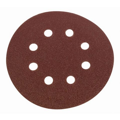 Flexovit (D) 115mm 50/80/120 Grit Sanding Discs Pack of 6