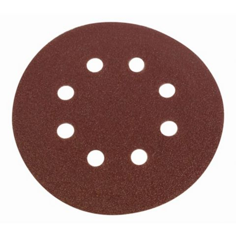 Flexovit (D) 125mm 50/80/120 Grit Sanding Disc Pack of 6