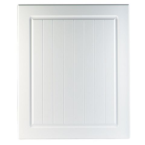 IT Kitchens Chilton White Country Style Integrated Appliance Door (W)600mm