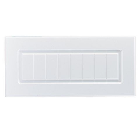 IT Kitchens Chilton White Country Style Bridging Door (W)600mm