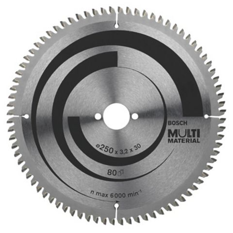 Bosch 80T Circular Saw Blade (Dia)250mm