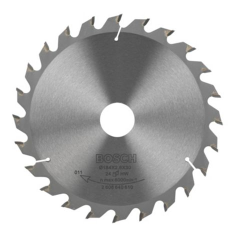 Bosch 24T Circular Saw Blade (Dia)184mm