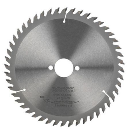 Bosch 48T Circular Saw Blade (Dia)190mm