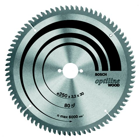 Bosch 24T Circular Saw Blade (Dia)216mm