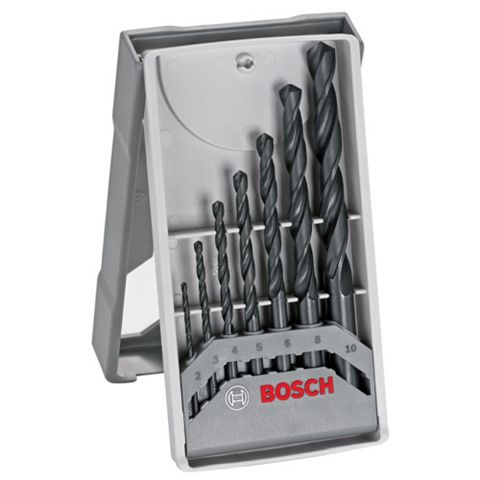 Bosch 2-10 mm Metal Drill Bit Set, 7 Set of 7