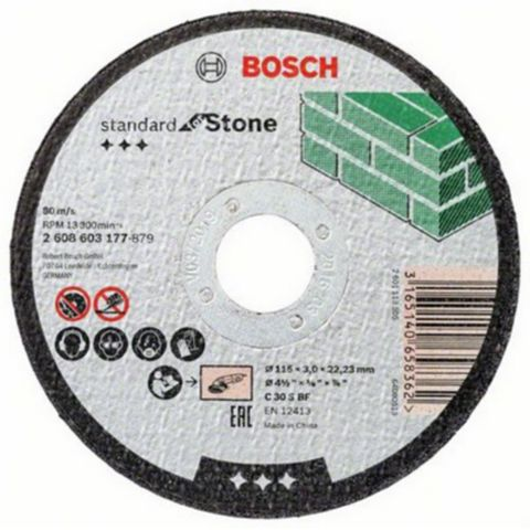 Bosch (Dia)115mm Continuous Stone Cutting Disc