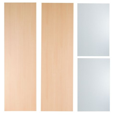 IT Kitchens Beech Style Tall Housing End Panel, 570mm x 1.92m