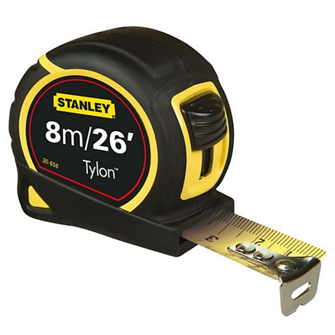 3253560306564 824756 STANLEY TAPE MEASURE 8M/26FT 0-30-656