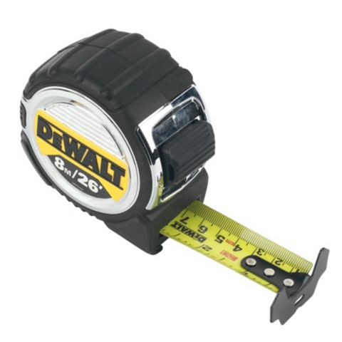 DeWalt 8m Tape Measure