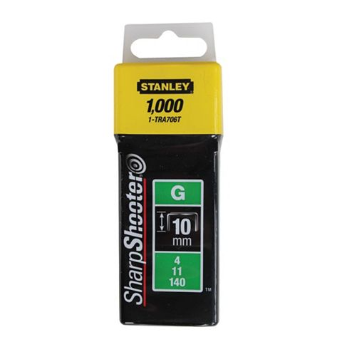 Stanley Staples 1-TRA706T (L)46mm 154G, Pack of 1000