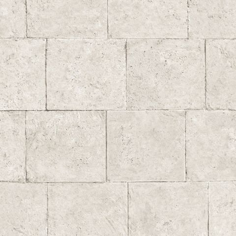 Brick Blocks Cream Wallpaper