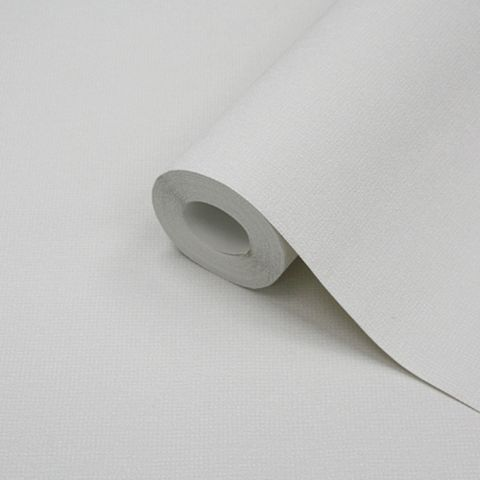 White Textured Plain Wallpaper