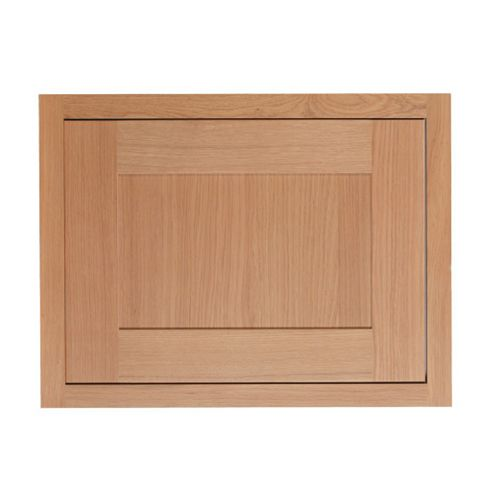 Cooke & Lewis Carisbrooke Oak Framed Belfast Sink Door (W)600mm