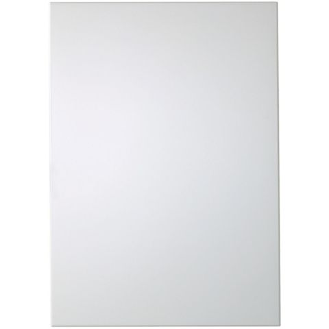 IT Kitchens Santini Gloss White Slab Standard Door (W)500mm