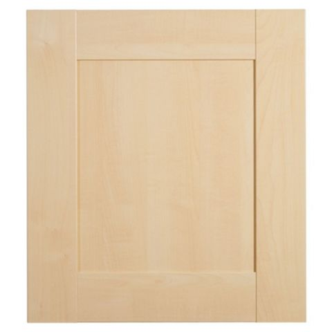 IT Kitchens Westleigh Contemporary Maple Effect Shaker Standard Door (W)500mm