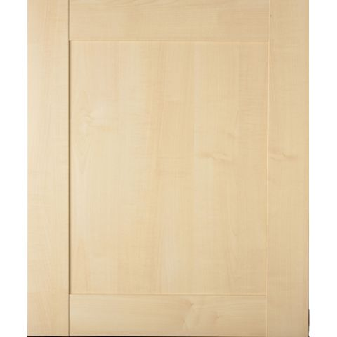IT Kitchens Westleigh Contemporary Maple Effect Shaker Integrated Appliance Door (W)600mm