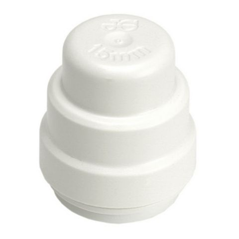 JG Speedfit Push Fit Stop End (Dia)22 mm, Pack of 5