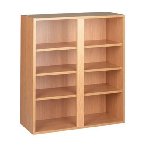 Cooke & Lewis Oak Effect Tall Wall Unit Carcass (W)800mm
